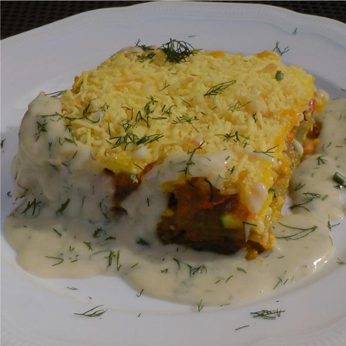 Rezept Kürbis Zucchini Lasagne Auf Dill Sauce Restaurant Hiller